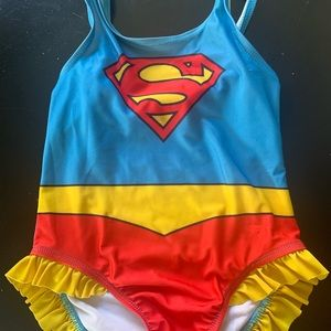 Supergirl bathing suit